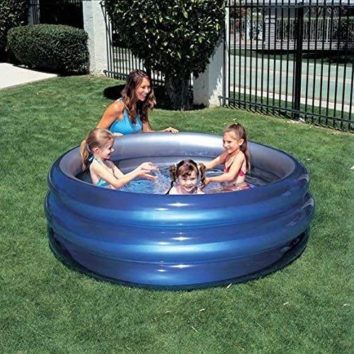 Promotion : Bestway piscine ronde pour enfants – Bleu/Gris