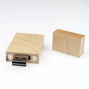 Tekno 440 - Promosyon Ahşap USB Flash Bellek