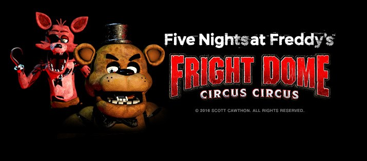 Fright Dome at Circus Circus launches a Five Nights at Freddy's ...