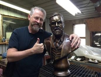 Bram Stoker Bronze Bust Project