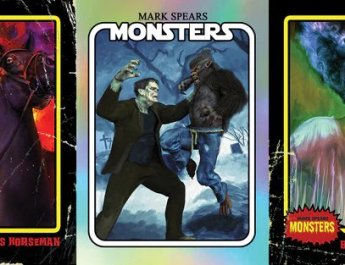 MARK SPEARS MONSTERS RETRO TRADING CARDS