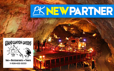 NEW PARTNER -Grand Canyon Caverns