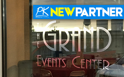 NEW PARTNER -The Grand Event Center