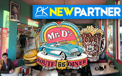 NEW PARTNER -Mr. Dz's Route 66 Diner