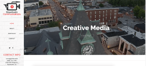 Visual Media and Video Website