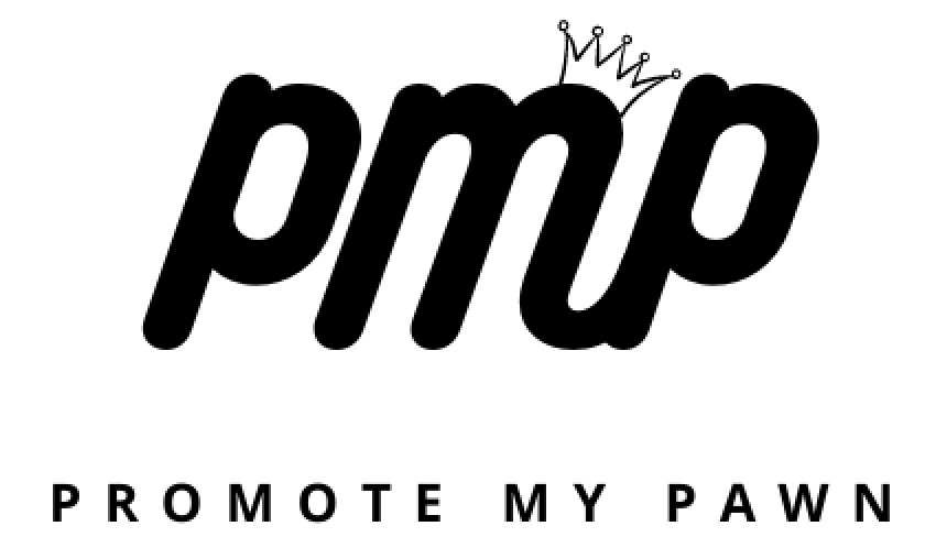 Small Promote My Pawn Logo