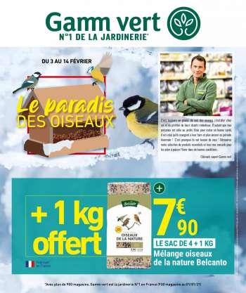 gamm vert catalogues prospectus et