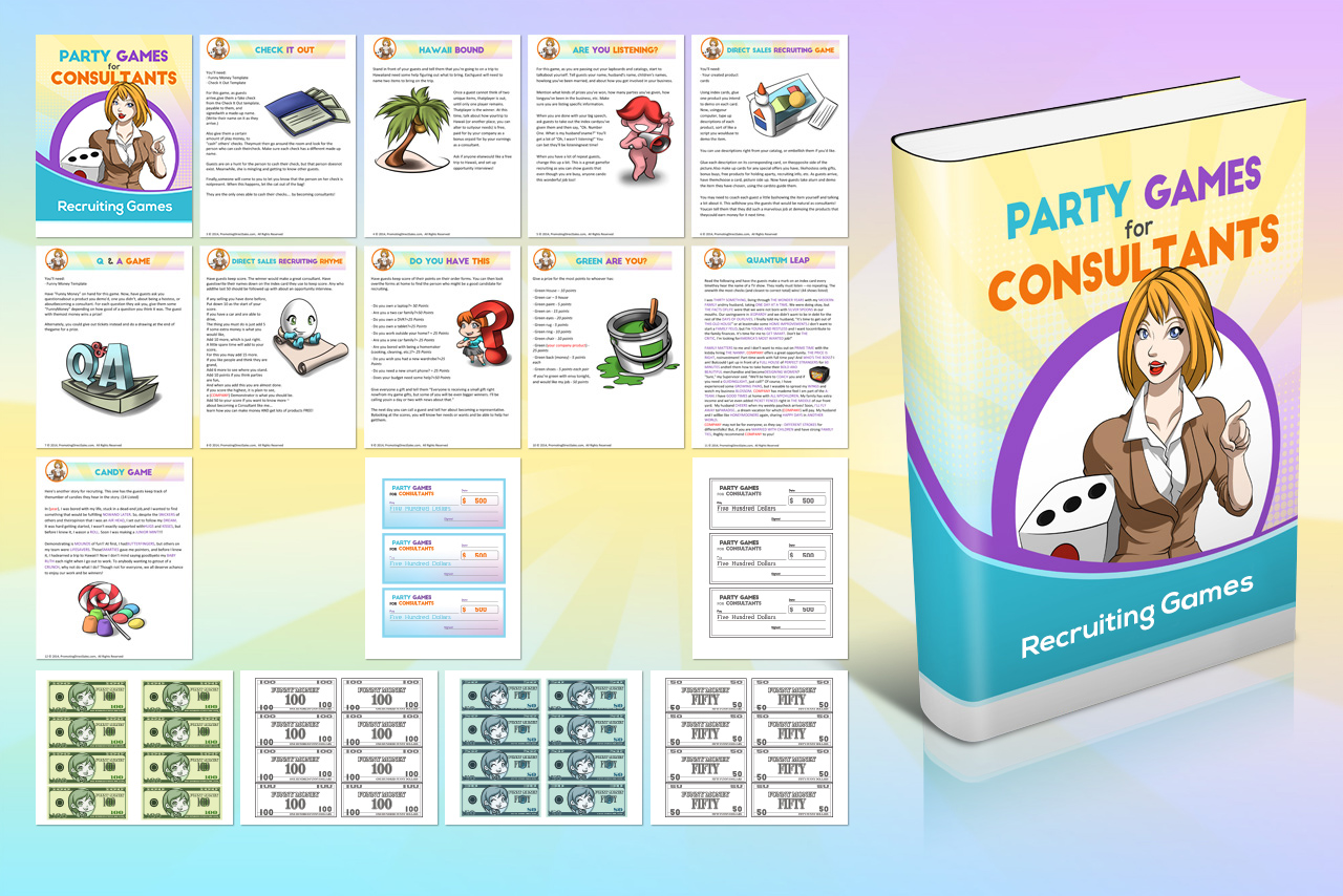 Party Games For Consultants Recruiting Games