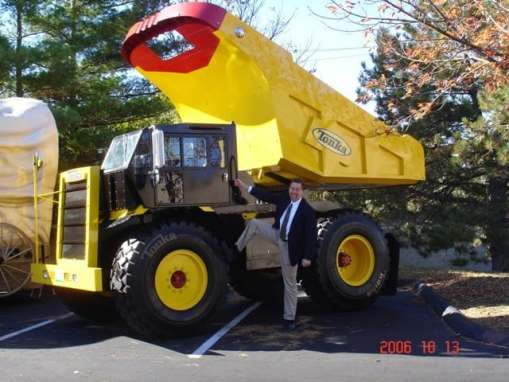 Tonka's Mighty Dump Truck Mobile Tour