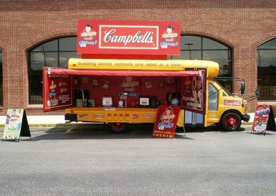 Campbell's Labels for Education Bus Mobile Tour