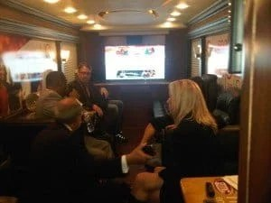 Meeting In Bus