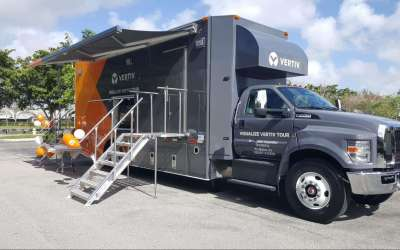 Vertiv Pulls Out All the Stops On Their B2B Mobile Tour