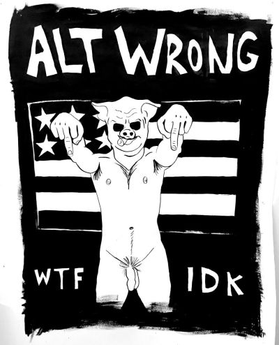 ALT Wrong by Homo Riot 2017