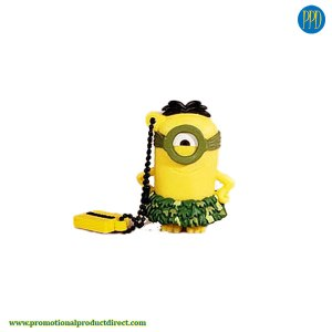 mascot custom shaped 3D flash drive USB