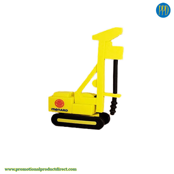 construction machinery custom shaped 3D flash drive USB