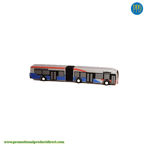 bus shaped custom shaped 3D flash drive USB