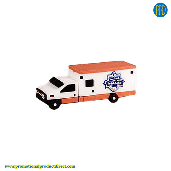 truck custom shaped 3D flash drive USB