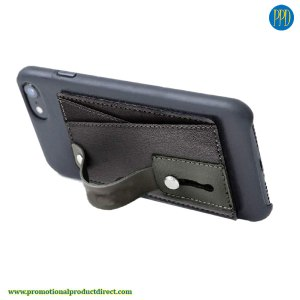 monet kickstand phone stand and wallet promotional product