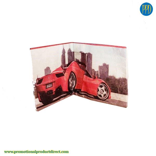 custom tyvek paper wallet promotional product