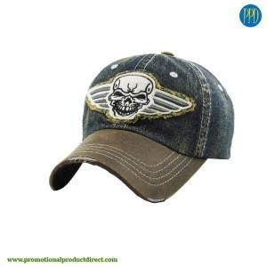 unique custom logo embroidered baseball hat