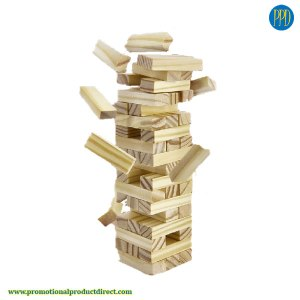 mini jenga tumbling tower game promotional product