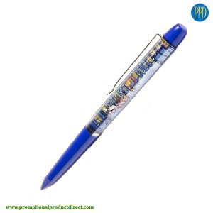 action floating pen for your logo