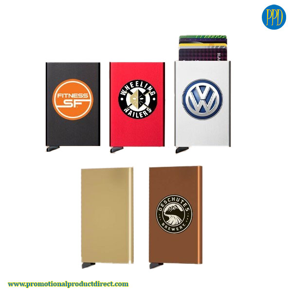 secrid credit card holder promotional product