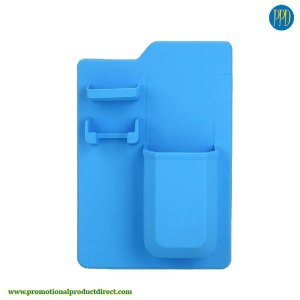 silicone shower caddy promotional product