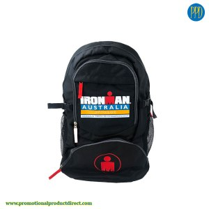 ironman back pack and promotional product