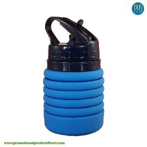 folding silicone water bottle promotional product