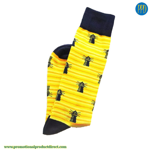custom-knit-socks promotional product