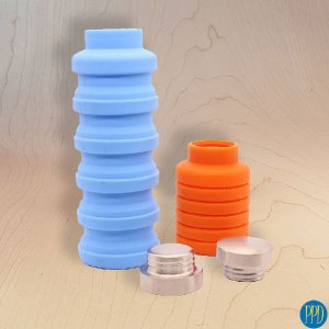 folding collapsible packable water bottle promotional product direct