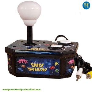 space invaders mini desktop game promotional product