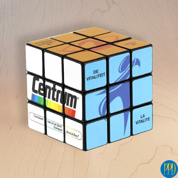 6-Sided Fully Custom Rubik's Cube.