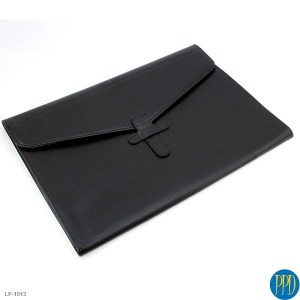 Leather embossed business promotional folder