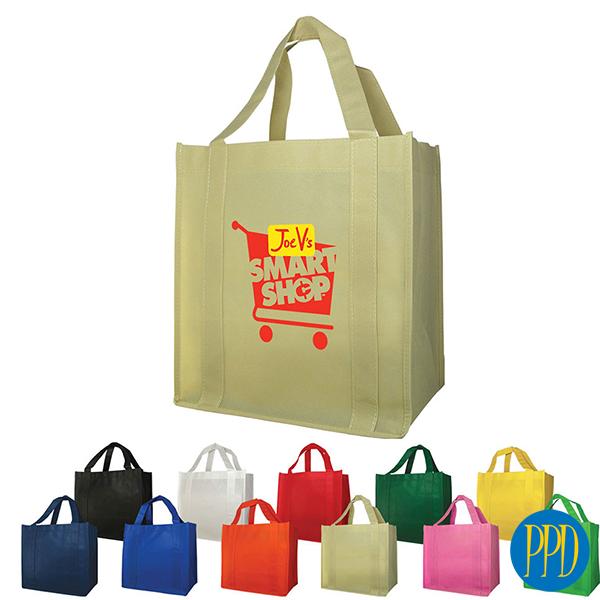 colorful reusable shopping bag