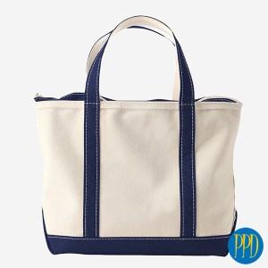 organic canvas reusable shopping bag