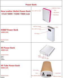 Power Bank Calelog Four Cell