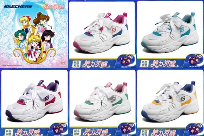 Skechers lanza una línea de ropa deportiva de Sailor Moon 1