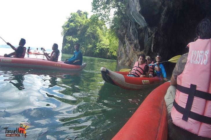 Island Hopping in Phuket - Canoeing to Bat Caves - James Bond Island Hopping
