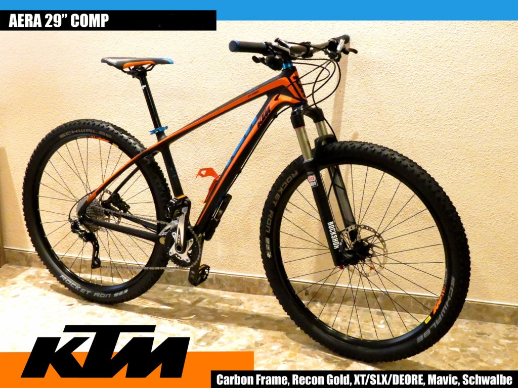 KTM Aera 29Comp test