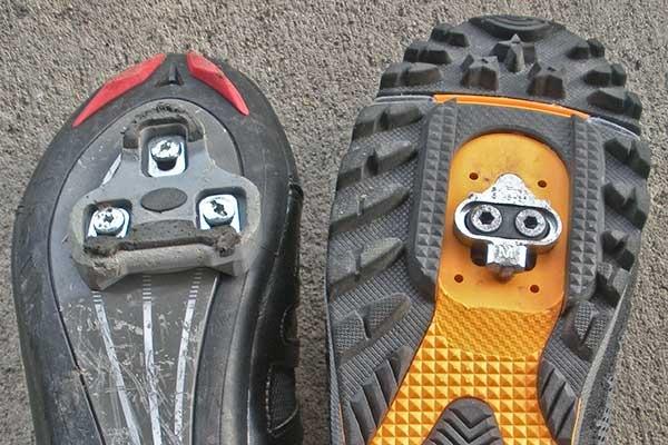 Mountain bike cleats