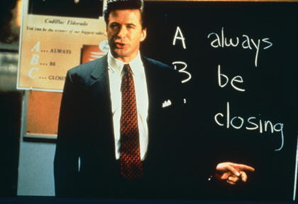 Alec Baldwin, Glengarry Glen Ross, Always Be Closing