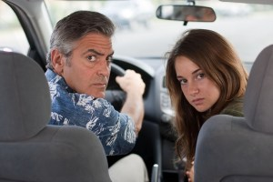 George Clooney, Shallene Woodley, The Descendants