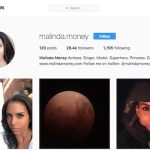 Malinda Money Instagram