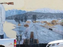 Cranbrook historic mural #4 (Photo © 2016 by V. Nesdoly)