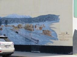 Cranbrook historic mural #5 (Photo © 2016 by V. Nesdoly)