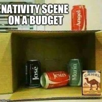 Looking for a new nativity set for Christmas? Here's just the thing for you!