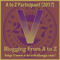#AtoZChallenge (April 2017) — V!