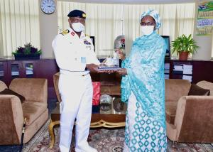 PHOTO NEWS: Naval Chief Visits Finance Minister